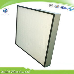 HU 超高效無隔闆過濾器 HU MINI-PLEATED HEPA FILTER